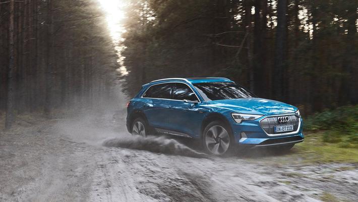 图集|2020款奥迪 e-tron,豪华纯电动中型SUV