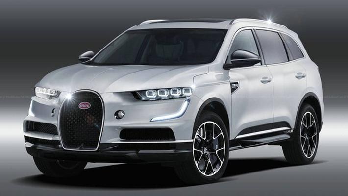 搭载混动系统 布加迪计划推SUV与劳斯莱斯竞争
