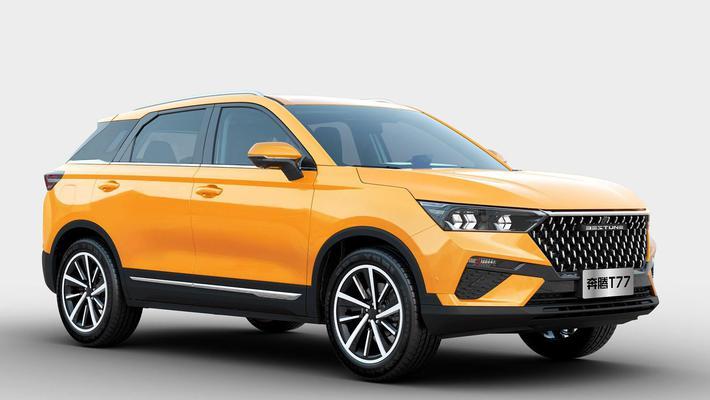 发力新能源! 奔腾推全新纯电SUV 轴距超荣威MARVEL X