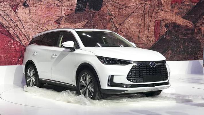 2018广州车展探馆 比亚迪唐EV