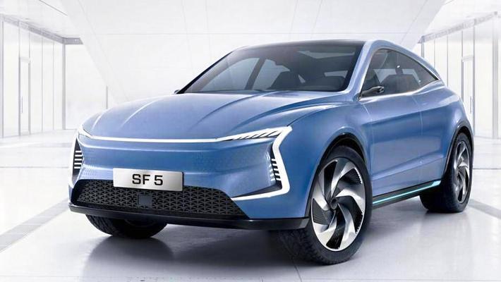 金康智能工厂启动试运营 金菓EV SF5首批试制车即将下线