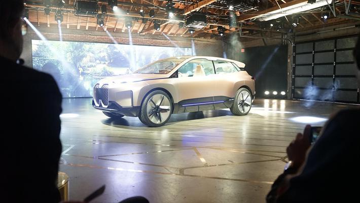 BMW Vision iNext全球首发 最大续航超600公里