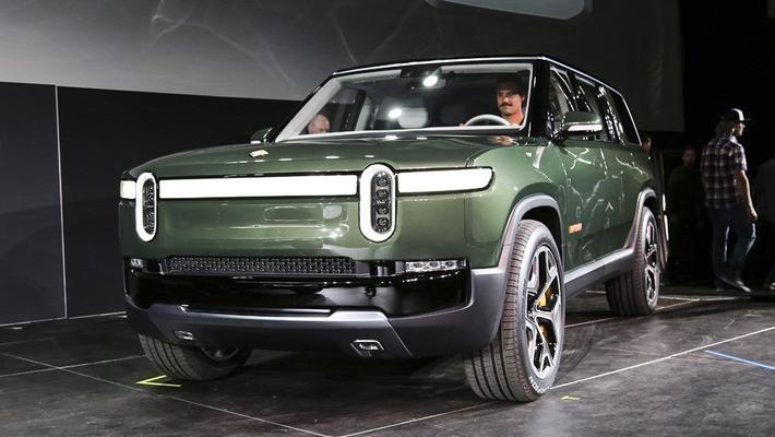 续航超600公里 洛杉矶车展 Rivian R1S纯电动SUV发布