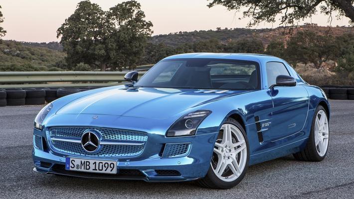 奔驰计划推出纯电动版SLS AMG继任者
