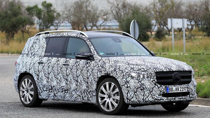 奔驰推出全新7座电动SUV,有望在华生产