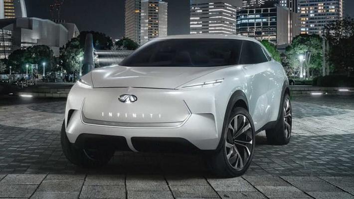 英菲尼迪发布纯电SUV,改走科幻风格