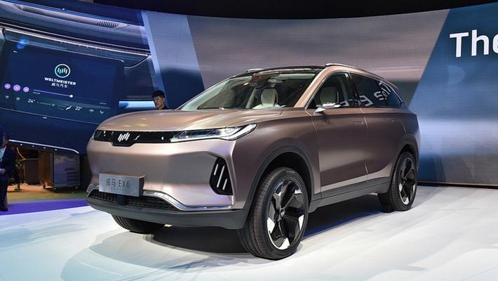 威马EX6今年9月上市 定位中型纯电动SUV/6座布局