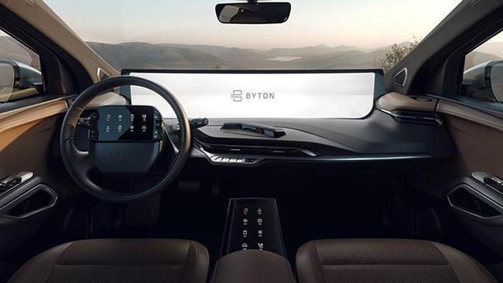 拜腾 M-Byte车型更多细节曝光