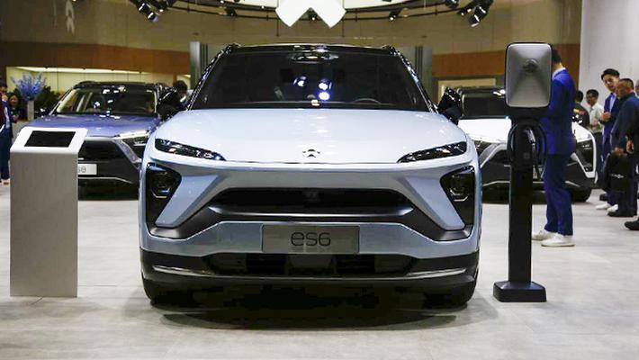 2019海口新能源车展:蔚来ES6亮相