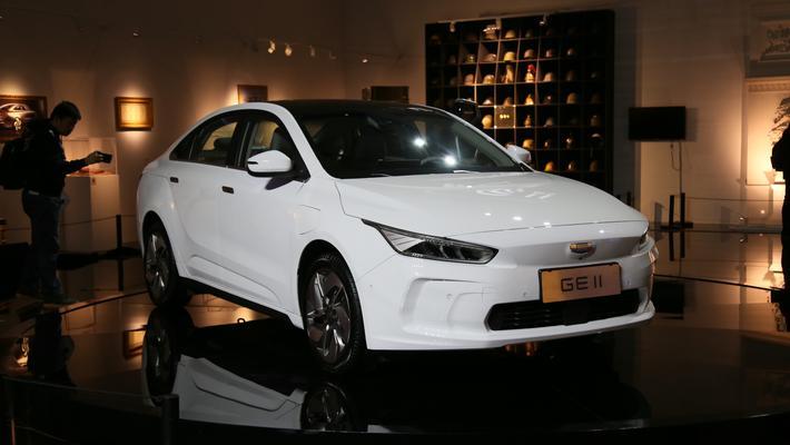 吉利全新纯电紧凑型车GE11亮相 一季度上市