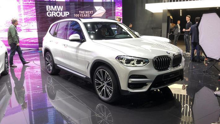 2019日内瓦车展:宝马X3混动车型正式亮相
