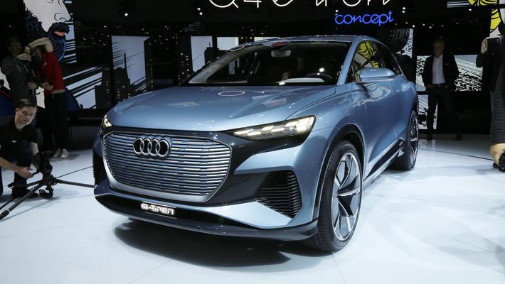 大步迈向电动化 日内瓦车展奥迪Q4 e-tron解析