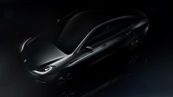博郡首款电动跨界SUV设计图曝光 4月11日首秀