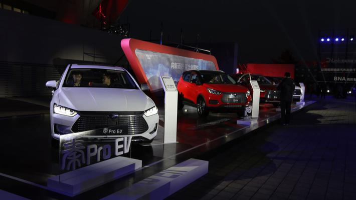 3月新能源车销量TOP10:比亚迪三款入围