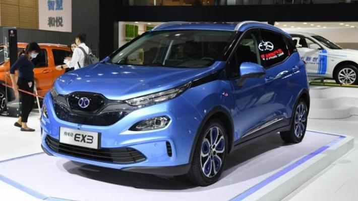 北汽新能源上海车展阵容曝光 EX3等三款车