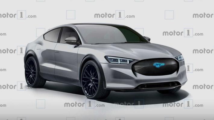 福特全新纯电动SUV假想图 2021年发布