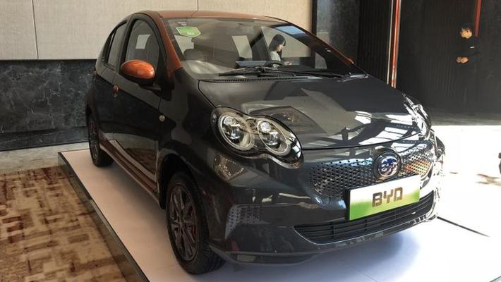 比亚迪e1微型电动车将于4月12日上市