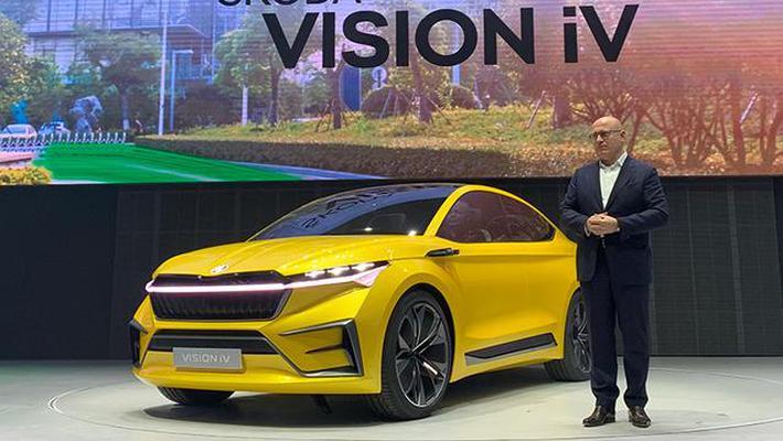 斯柯达品牌日 VISION iV 概念车首发亮相