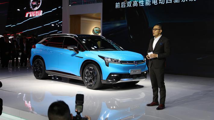 广汽新能源首款纯电SUV亮相上海车展