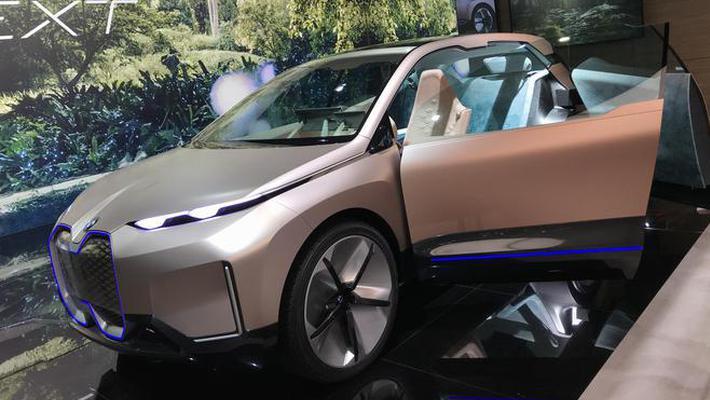 上海车展:宝马国产3系/Vision iNEXT概念车发布