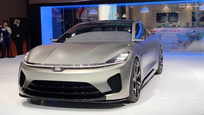 天际概念车ME-S正式亮相上海车展