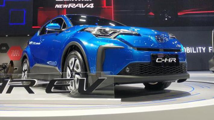 2019上海车展:广汽丰田C-HR纯电动版亮相