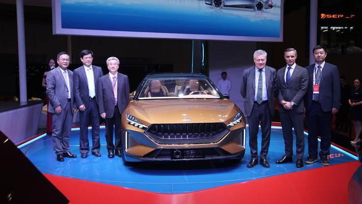 2019上海车展:格罗夫氢能乘用车全系亮相