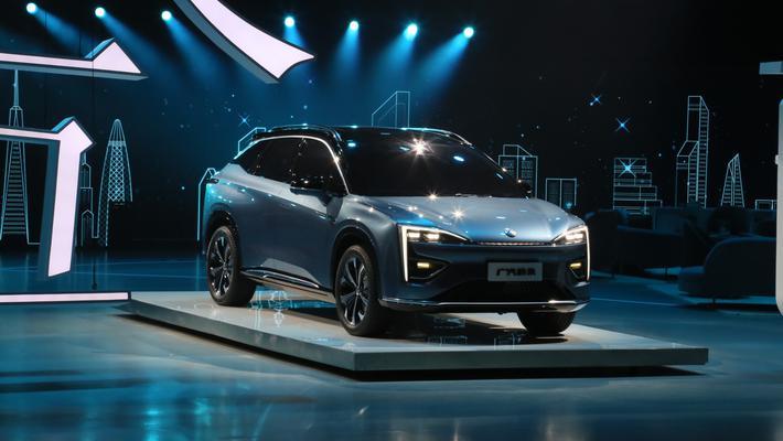 广汽蔚来发布全新品牌--合创 全新概念SUV亮相