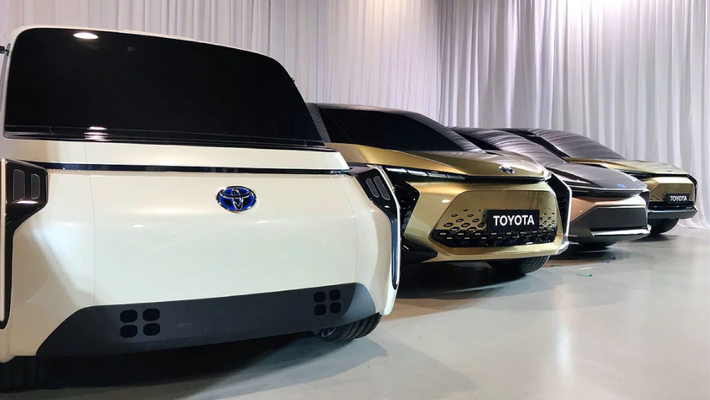 丰田升级电动化战略:2025年实现550万辆销量