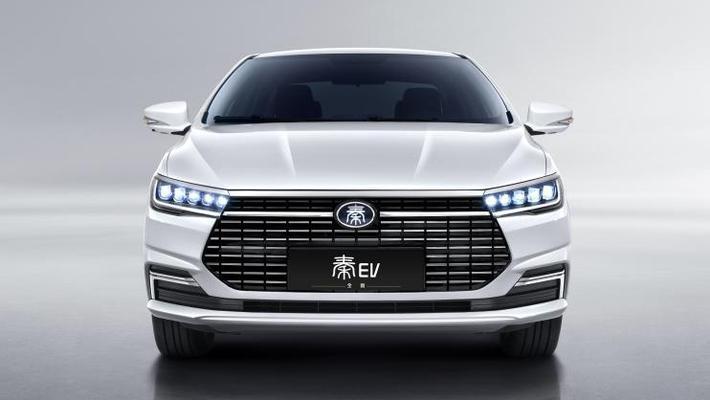 综合续航可比Model3 比亚迪全新秦EV定妆图曝光
