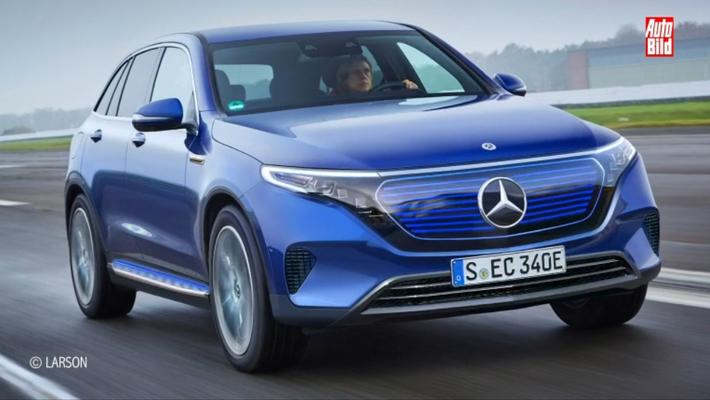 全新电动轿车EQE预计2022年发布