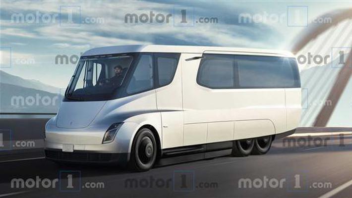 特斯拉房车渲染图曝光!这会是房车的未来吗?