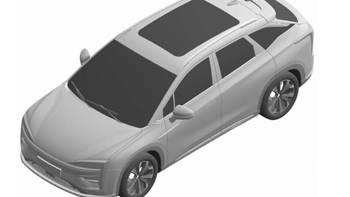 广汽蔚来首款SUV曝光 年底上市/预计25万起售