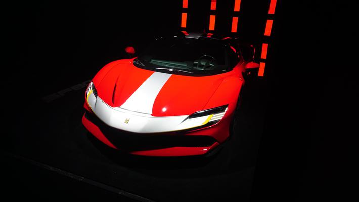 法拉利SF90 Stradale上市 售价398.80万元