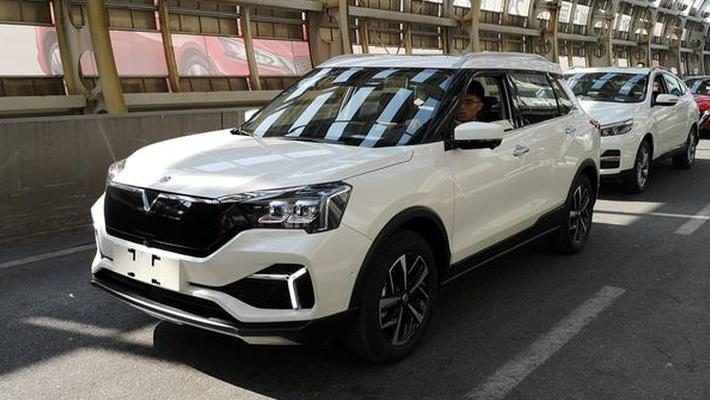 启辰全新小型电动SUV 中网采用黑色涂装