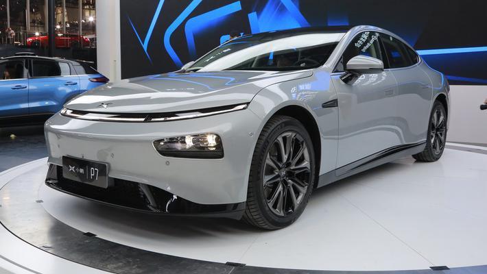 值得期待的电动车 小鹏P7亮相广州车展