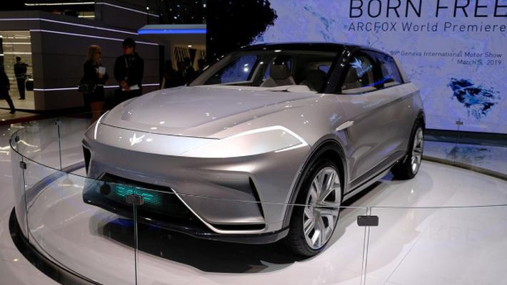 曝ARCFOX ECF量产车型动力参数 明年年底上市