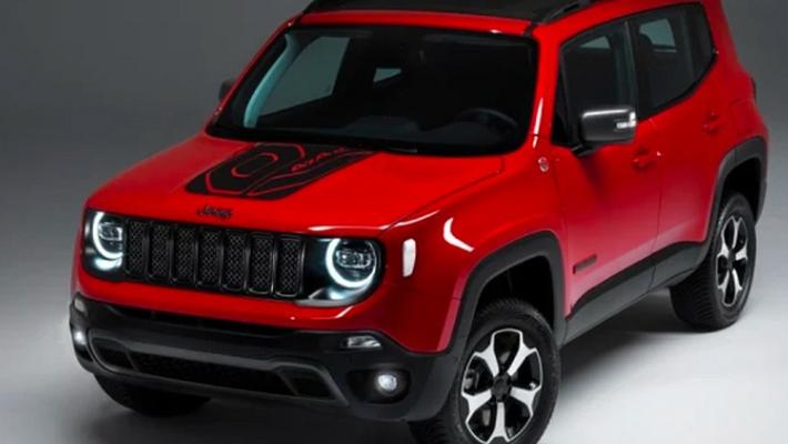 Jeep新款自由侠曝光 搭载1.3T插电混合动力系统