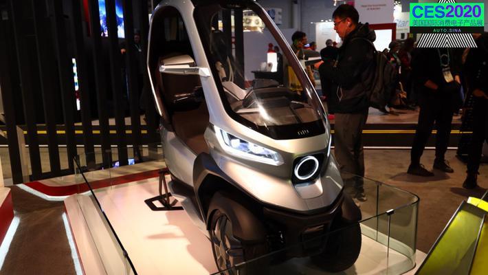 2020CES:小牛电动 自动驾驶遇上电动摩托