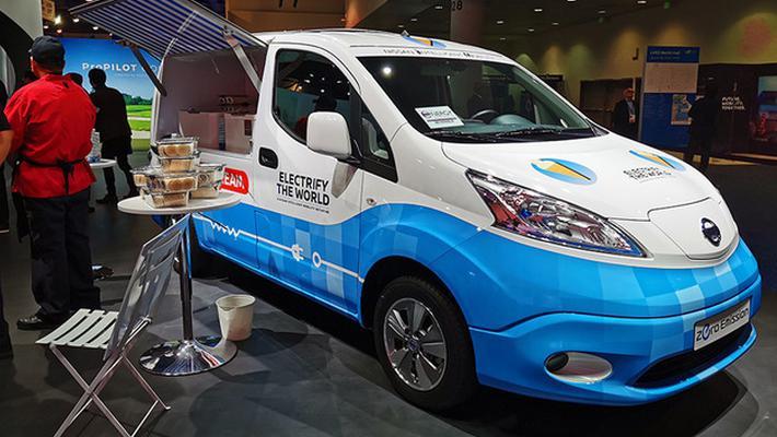 探寻新盈利方向 日产e-NV200纯电动概念车亮相