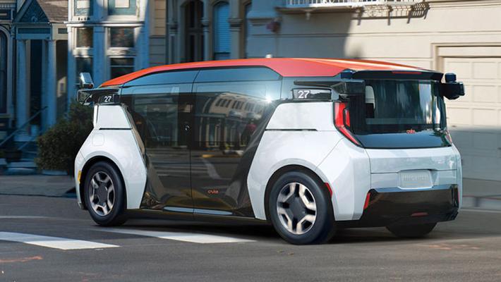 布局未来 通用Cruise推出首款无人驾驶车