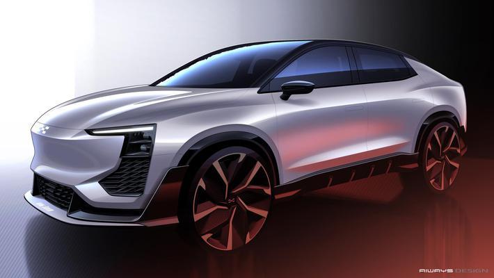 2020日内瓦车展|爱驰U6 ion将全球首发 设计图曝光
