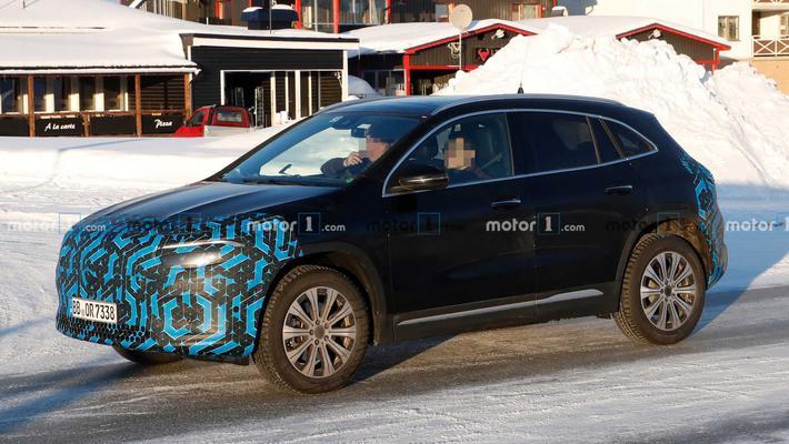 奔驰EQA和EQB电动SUV谍照曝光 EQB预计明年推出