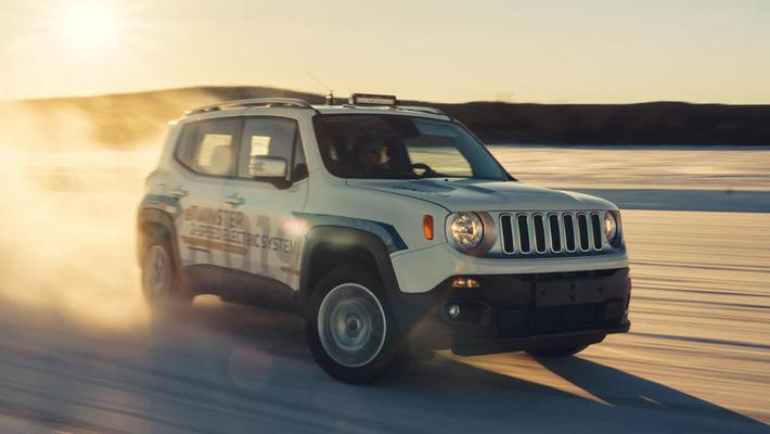 1.0L三缸发动机 Jeep Renegade混动版