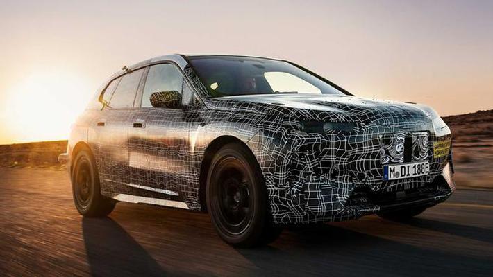 宝马iNext车型谍照曝光 将于明年发布