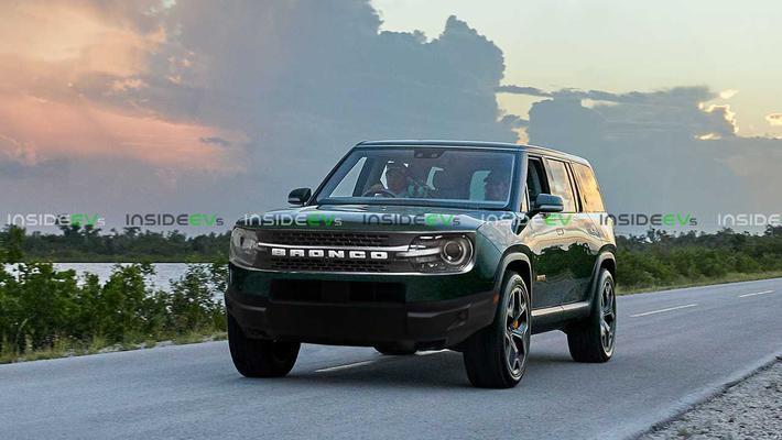 全新福特Bronco或3月18日全球首发 电动版效果图曝光