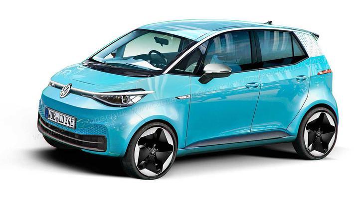 大众打造入门电动微车ID.1 2023年发布/约15万起售
