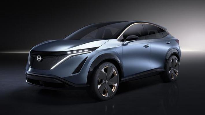 日产Ariya纯电动跨界概念车设计解读
