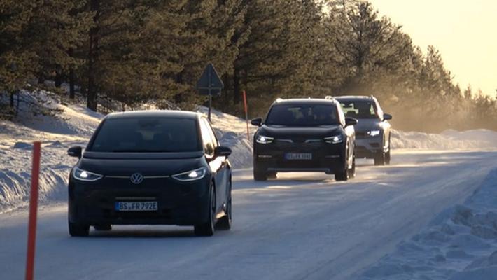 大众纯电SUV来了 最高续航500km 曝ID.4谍照