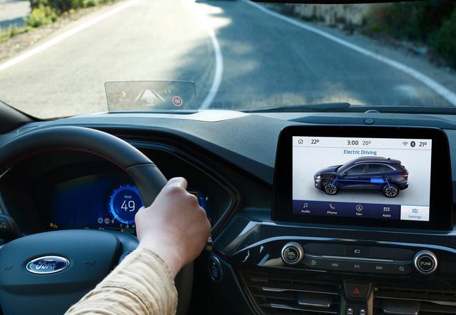 福特全新KUGA官图发布 国产版定位高于翼虎